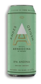 Pack X 24 Cerveza Andes Origen Ipa Lata X 473 Ml