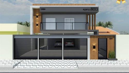 Casa, 2 Dorms Com 51 M² - Antartica - Praia Grande - Ref.: Gmv8 - Gmv8