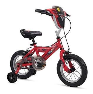 Huffy Disney Cars Boys Bicicleta Con Luces Y Suena Ruedas De