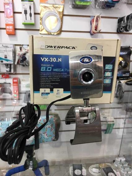 Webcam De 8.0 Mega Pixels Powerpack Vx-30.n