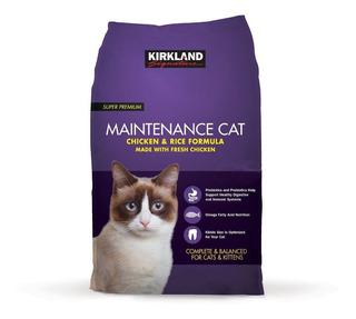 Alimento Para Gato Kirkland Fórmula De Arroz Y Pollo 11.34kg