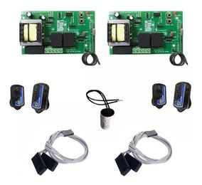Kit 02 Placas Acton Ac4 Fit Controles Fim De Curso Capacitor