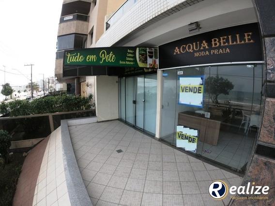 Loja Comercial || De Frente Para O Marlin Azul || Orla Da Praia Do Morro || Realize Negócios Imobiliários || A Imobiliária Da Família - Pt00001 - 33959942