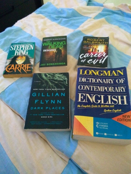 Lote 8 Livros Em Inglês Treinar O Idioma + Dicionário Logman