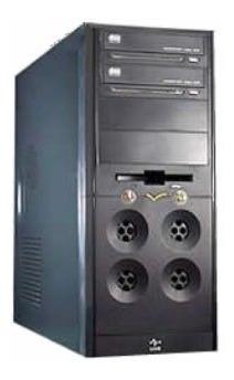 Pc Intel Core2 Quad Q6600 4gb Ddr3 Hdd 500gb Ati His Hd 4670
