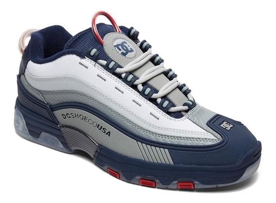 Tênis Dc Shoes Legacy Navy Red Adys100476