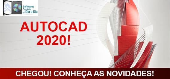 Autocad2020 + Vídeo Instalação