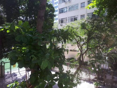 Apartamento Com 3 Dormitórios À Venda, 100 M² Por R$ 1.420.000,00 - Leblon - Rio De Janeiro/rj - Ap6677