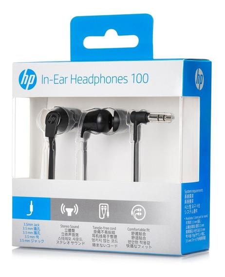Audífonos Hp 100 In - Ear Negros
