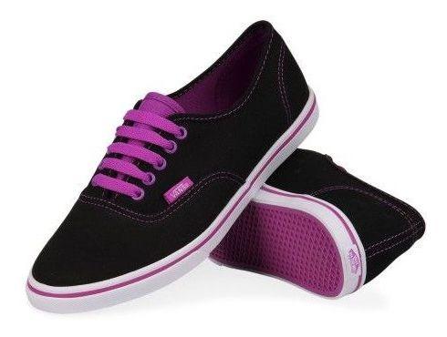 Vans Lo Pro Black And Purple
