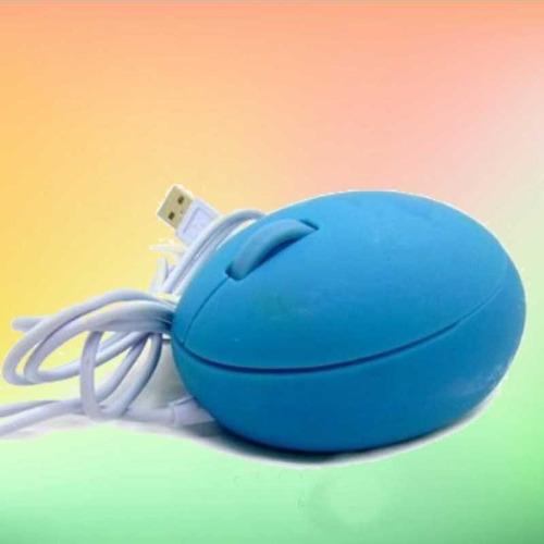 Mouse Usb Optico (forma Huevito)
