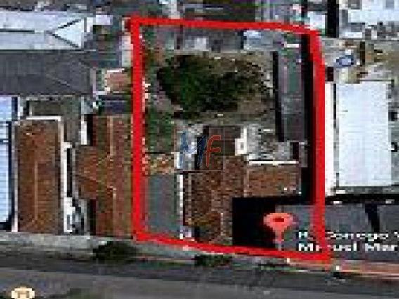 Ref 2922- Terreno Plano Com Ótima Localização Próximo Ao Metrô Barra Funda Com 684 M2, E 225 M2 A.c. Zeis 3 - Bom P/ Investidor. - 2922