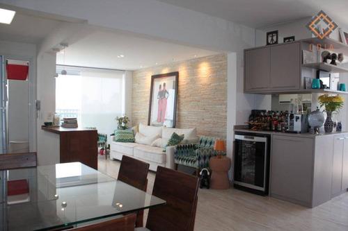 Apartamento Com 2 Dormitórios, 70 M² - Venda Por R$ 1.050.000,00 Ou Aluguel Por R$ 5.358,00/mês - Brooklin - São Paulo/sp - Ap39575