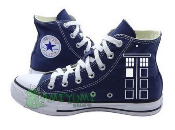 Tênis Doctor Who All Star Converse Personalizado