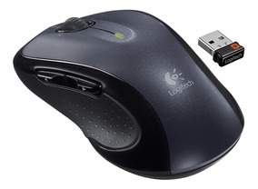 Mouse Logitech Sem Fio M510 Usb Preto Receptor Nano