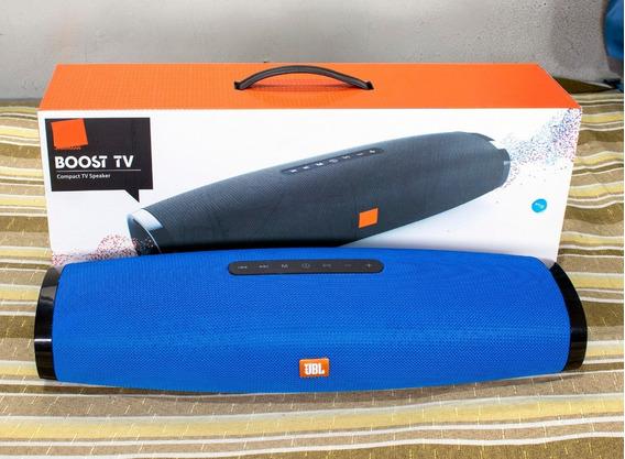 Caixa De Som Boost Tv Sound Bar Micro Sd Usb P2 Buetooth