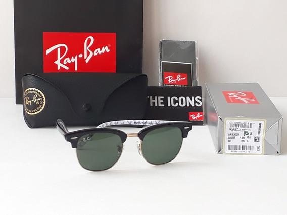 Ray Ban Club Master Rb3016 10-15-51mm Negro-blanco