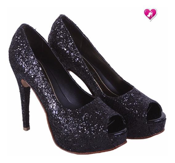 Stillettos Glitters M Eliana Shoes Bayres Cuotas Sin Interes