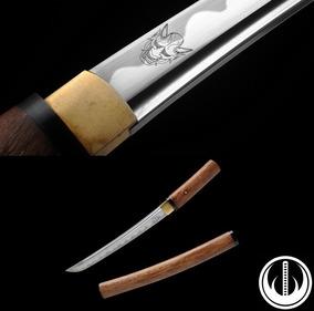 Punhal Faca Samurai Japonês Afiado Tanto Katana Shiarasaya