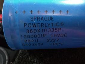 Capacitor Sprague 120000uf 15vdc
