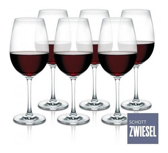 Jogo 6 Tacas Cristal Vinho Tinto Ivento 506ml Schott Zwiesel