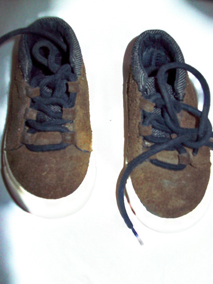 Aurojul-zapatillas Gamuzadas Y Borde De Jean-zara Nª20