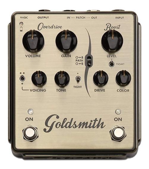 Pedal Egnater Goldsmith Overdrive/boost C/ Nf-e & Garantia