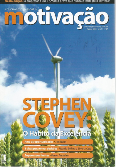 Revista Crescimento Pessoal & Motivação Ano 2005 - N.27