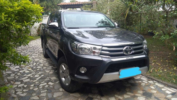 Toyota Hilux 2017 2.8 Tdi Srv Cab. Dupla 4x4 Aut. 4p