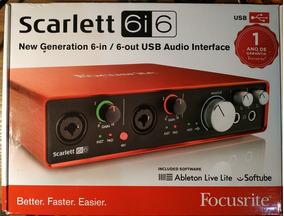 Focusrite Scarlett 6i6 2 Gen