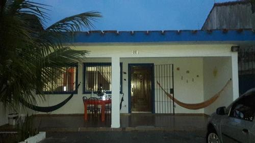 Casa Em Vera Cruz, Mongaguá/sp De 280m² 5 Quartos À Venda Por R$ 400.000,00 - Ca483599