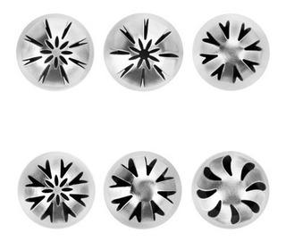 Duyas O Boquillas Esféricas Para Decorar Set De 6 Pzas Ibili