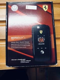 Celular Motorola Razr Max V6 Edicion Ferrari Coleccionable