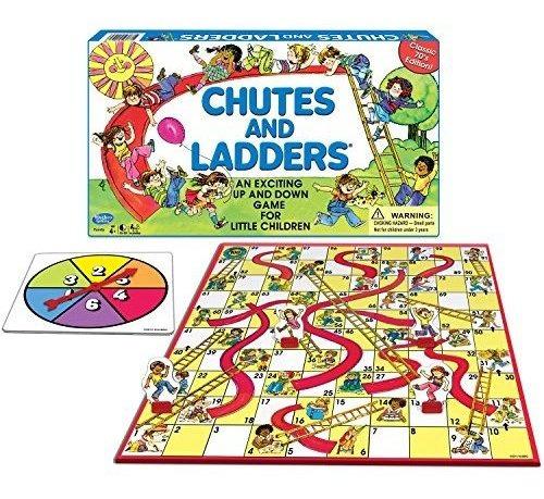 Juego De Mesa Classic Chutes And Ladders