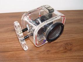 Caixa Estanque + Câmera Samsung Nv10 Para Mergulho