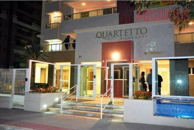 Quartetto Aquarius, 120 M2, 3 Dorms, Escritório, 3 Vagas, Hobby-box E Ótimo Lazer! - Ap0108