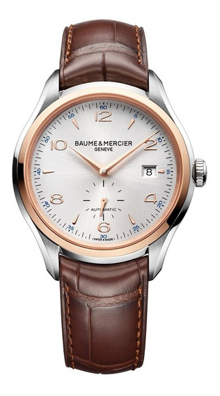 Reloj Baume & Mercier Clifton 10139 Automatico Oro Rojo 18k