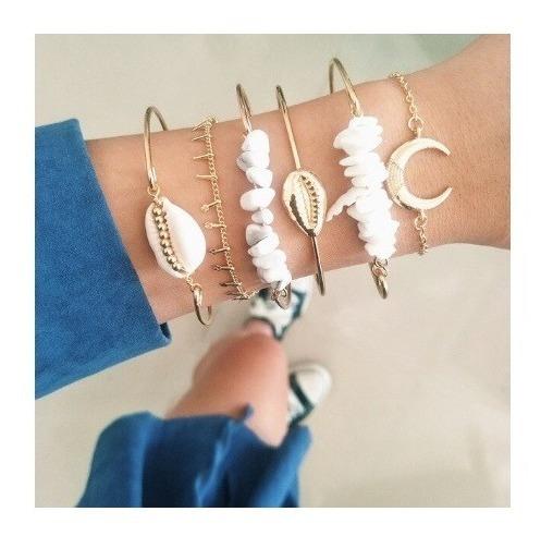 Pulseiras Femininas Bracelete Delicado Para Presentear #3