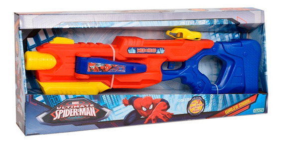 Spiderman Pistola De Agua Water Shoot Grande Ditoys