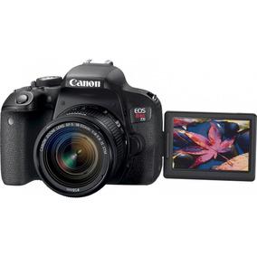 Câmera Canon T7i Kit 18-55mm Stm Barato Promoção Garantia