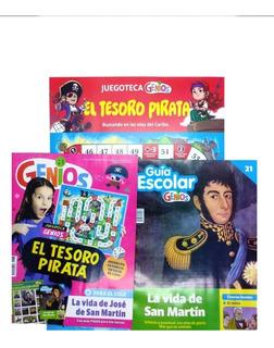 Revista Genios Clarin Escolar Nivel Primario Pintar Aprender