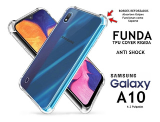 Funda Rigida Anti Shock Transparente Samsung Galaxy A10 Rosario
