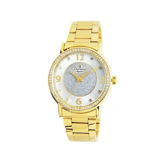 Relógio Champion Feminino Dourado Cn25752h