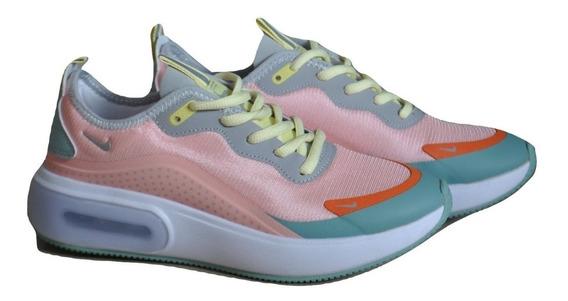 Kp3 Zapatos Damas Nike Air Max Dia Multicolor