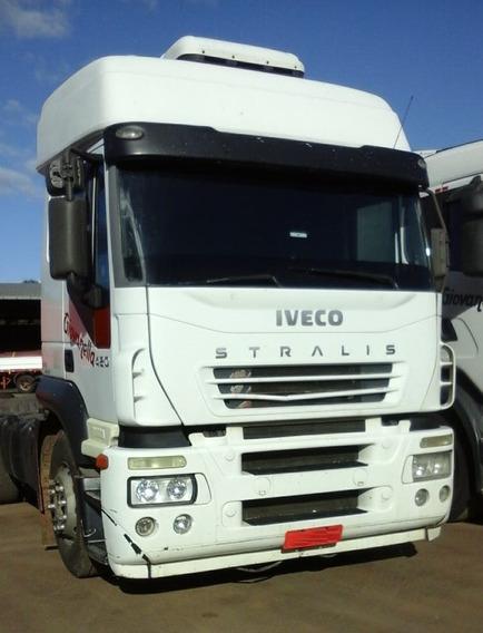 Iveco Stralis 380 - 6x2 - 2007 - Teto Alto