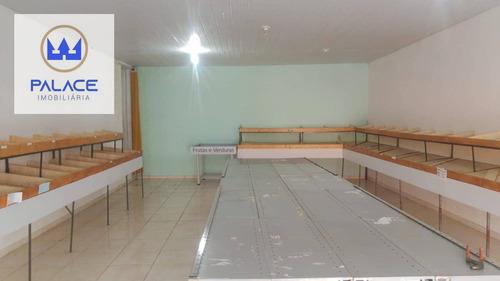 Imagem 1 de 4 de Salão Para Alugar, 80 M² Por R$ 2.700,00/mês - Santa Terezinha - Piracicaba/sp - Sl0144