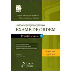 Livro Como Se Preparar Para O Exame De Ordem Constitucional