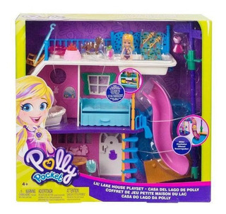 Polly Pocket - Casa Del Lago De Polly - Mattel
