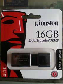 Pendrive De 16gb Kingston Datatraveler 100 G3