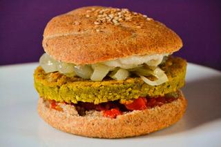 Riquísimas! Hamburguesas Vegano/ Vegetariano